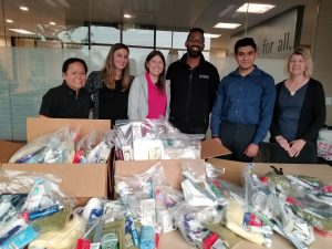 biddle donates kits for convoy of hope and california's camp fire