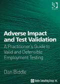 Adverse Impact and Test Validation Book Cover