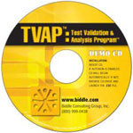 TVAP Test Validation and Analysis Software CD